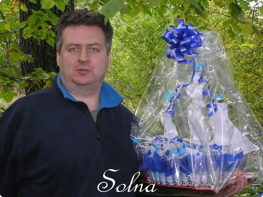 Кораблик в подарок на день рождения. фото 6