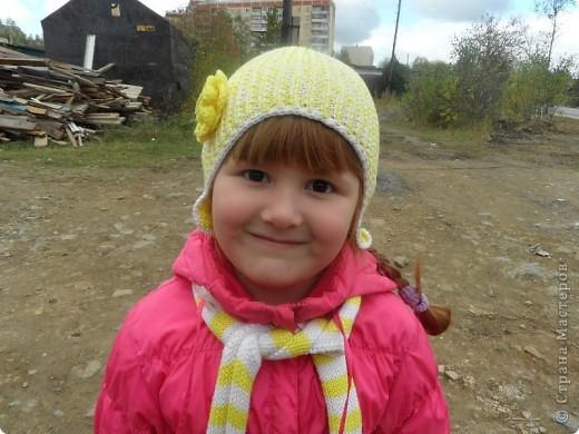 Шапочка для дочи. фото 1