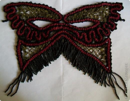 Новый год Плетение на коклюшках Карнавальная маска Бисер Нитки