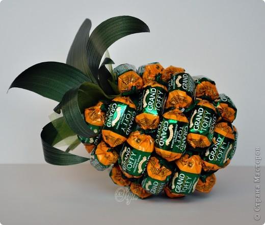 """Конфетный ананас """" Поиск мастер классов, поделок своими руками и рукоделия на SearchMasterclass.Net"""