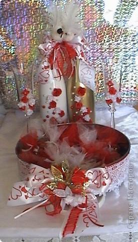 моя первая работа,заказ для свадебного торжества фото 1