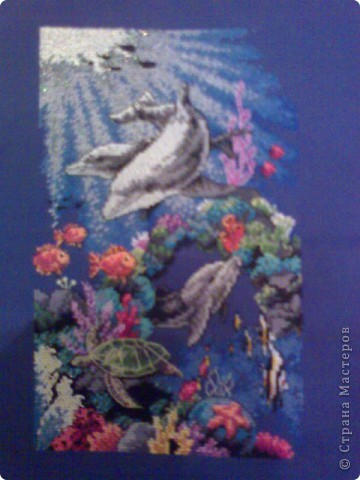 """Вышивка """"Морской мир"""""""