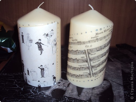 Мои любимые звёзды поселилсь на свечках))) фото 2