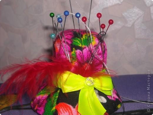 Магнитная шляпка-игольница фото 1