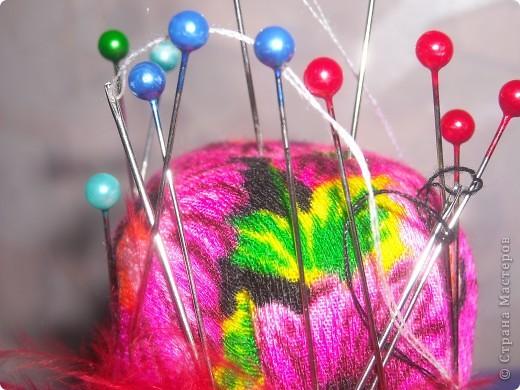 Магнитная шляпка-игольница фото 2