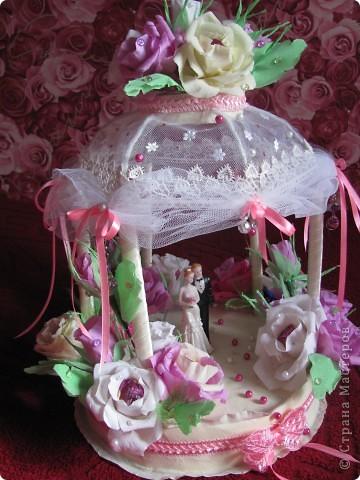 мои новые дебютные работы в конфетной технике фото 4