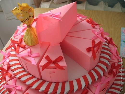 Торт на свадьбу:в нижнем ярусе 18 штук,в верхнем 12. Вдохновила работа Татьяны62-огромное спасибо за вдохновление и прекрасные работы мастериц СМ! фото 3