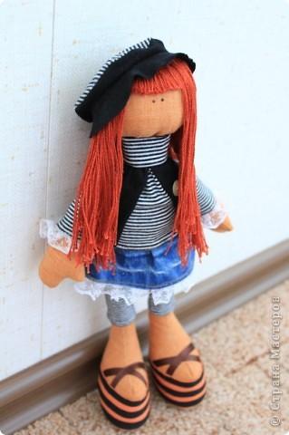 Это моя кукла  тильда! первы опыт