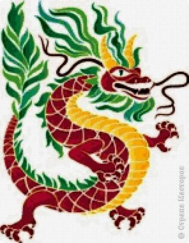 Вот представляю на суд  материц свои нове работы. Дракона этого вынашивала в голове очень давно. Ну, в смысле - не именно этого, а вообще Китайского дракона. Опять же новый год скоро. Получился вот такой новогодний символ.  фото 9