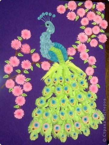 Вот такая открытка получилась у меня благодаря МК Ольги Ольшанской. Спасибо ей огромное!! Это моя первая серьезная работа в этой технике. фото 1