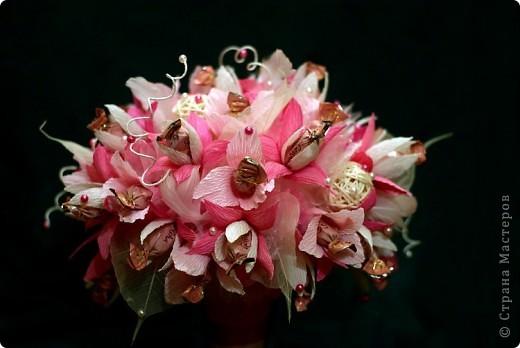 Осень в розовых очках, почему то так хочется назвать эту композицию!  фото 3