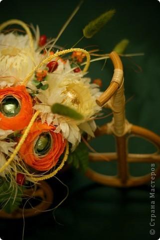 Осень в розовых очках, почему то так хочется назвать эту композицию!  фото 6