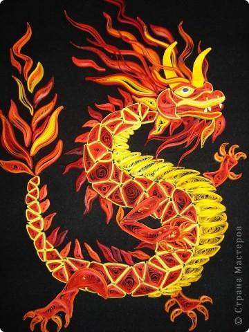 Вот представляю на суд  материц свои нове работы. Дракона этого вынашивала в голове очень давно. Ну, в смысле - не именно этого, а вообще Китайского дракона. Опять же новый год скоро. Получился вот такой новогодний символ.  фото 2