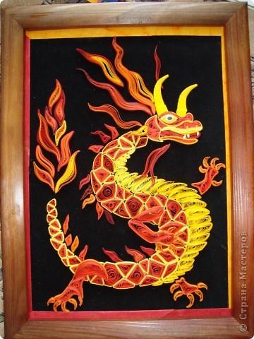 Вот представляю на суд  материц свои нове работы. Дракона этого вынашивала в голове очень давно. Ну, в смысле - не именно этого, а вообще Китайского дракона. Опять же новый год скоро. Получился вот такой новогодний символ.  фото 3