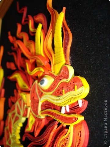 Вот представляю на суд  материц свои нове работы. Дракона этого вынашивала в голове очень давно. Ну, в смысле - не именно этого, а вообще Китайского дракона. Опять же новый год скоро. Получился вот такой новогодний символ.  фото 5