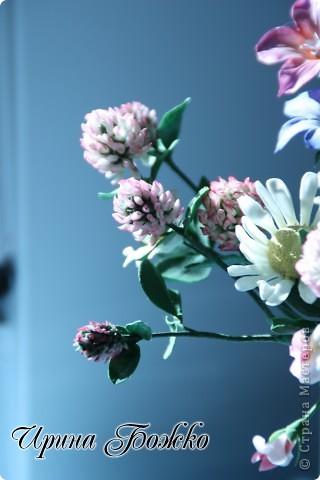 Доброго времени суток вам, жители страны мастеров!!!   В поле за деревней, Средь душистой кашки, Расцветает клевер -- Лучший друг ромашки. Красные комочки, Как кошачьи лапки. Шарики-цветочки, Запах поля сладкий.......... фото 6