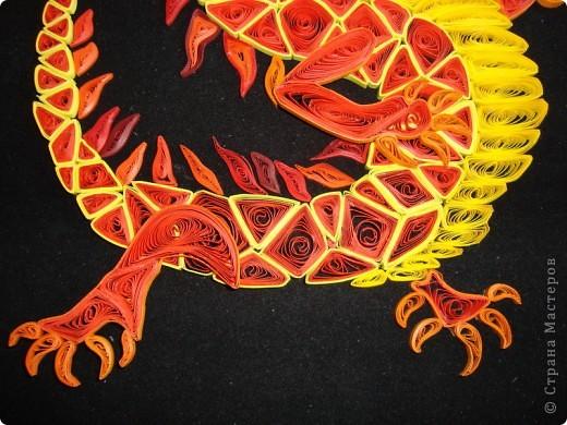 Вот представляю на суд  материц свои нове работы. Дракона этого вынашивала в голове очень давно. Ну, в смысле - не именно этого, а вообще Китайского дракона. Опять же новый год скоро. Получился вот такой новогодний символ.  фото 6