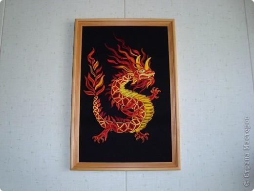 Вот представляю на суд  материц свои нове работы. Дракона этого вынашивала в голове очень давно. Ну, в смысле - не именно этого, а вообще Китайского дракона. Опять же новый год скоро. Получился вот такой новогодний символ.  фото 8