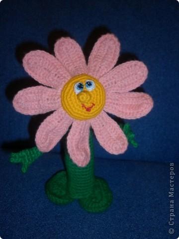 Вот такой вот получился у меня цветочек. фото 1