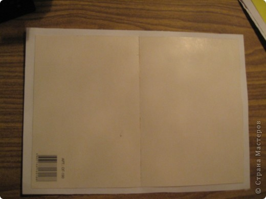Приветствую всех! Выставляю небольшой мастер-класс по основам для открыток для тех, у кого нет специальных. Для этого понадобится картон и бумага с приклеенной салфеткой по всем известному МК http://stranamasterov.ru/node/152513?tid=451%2C722 фото 3