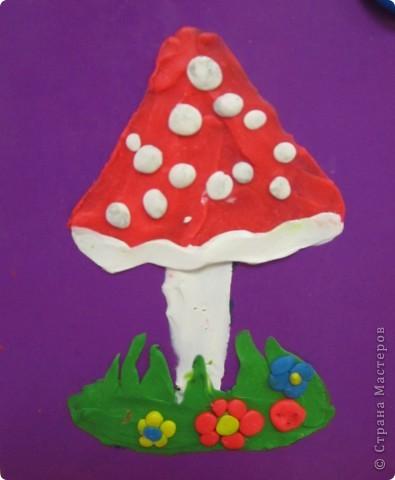 Пластилиновые цветы, выполнены детьми четырех лет. Подсмотрено здесь,спасибо за опыт. фото 2