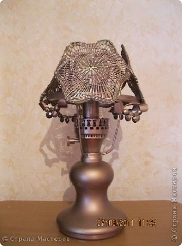 Новая жизнь настольной лампы фото 3
