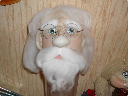 Это голова Доктора Айболита, сделана на заказ в детсад вместе с руками. фото 1