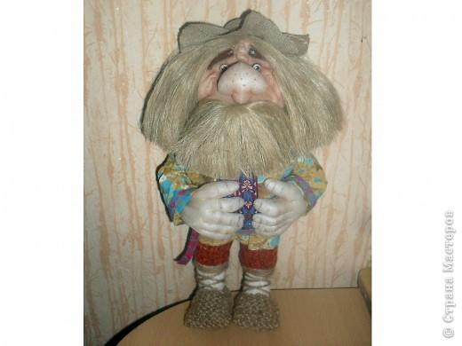 Это голова Доктора Айболита, сделана на заказ в детсад вместе с руками. фото 3