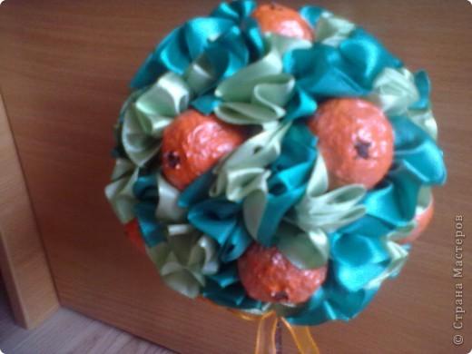 Наконец-то! я это сделала!мое мандариновое(или апельсиновое) деревце! повторюшка, все по STRINFLEX! Спасибо тебе Светочка за идеи, вдохновение и за все остальное! фото 3