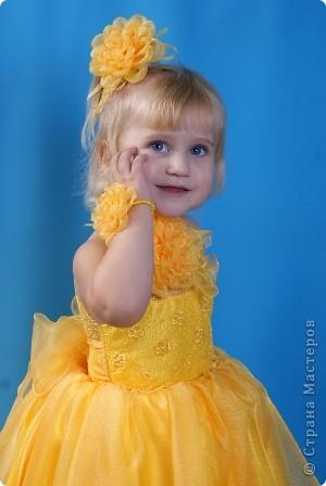 После рождения внучки Ксенечки у меня появилось желание сшить что-нибудь для нее,вот наше первое платье фото 4