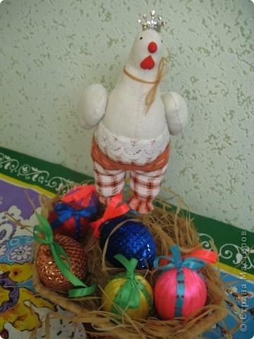 Снесла курочка яичко, не простое, а ......  фото 1