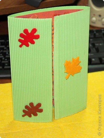 На Украине первое воскресенье октября – День учителя. Мы с Сашуней смастерили открытки! фото 1