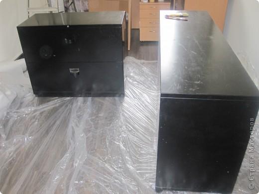 чёрные металические комоды фото 1