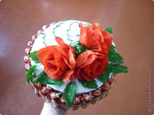 вот такой тортик мы с дочей подарили в садик воспитателям фото 3