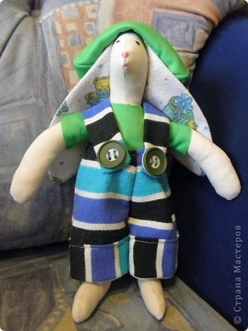 Раз уж и у дочки появилась кукла, то как же оставить без игрушки сыночка.... Вот и получился новый друг ))) фото 1