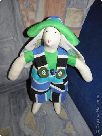 Раз уж и у дочки появилась кукла, то как же оставить без игрушки сыночка.... Вот и получился новый друг ))) фото 2