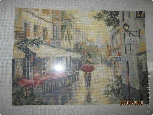 Париж после дождя