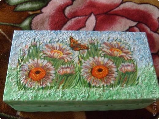 Коробочка для бисероплетения. делала в подарок,по этому нужно ваше мнение. фото 3