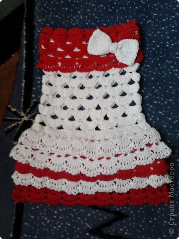 Платьеце для крестницы.  фото 1