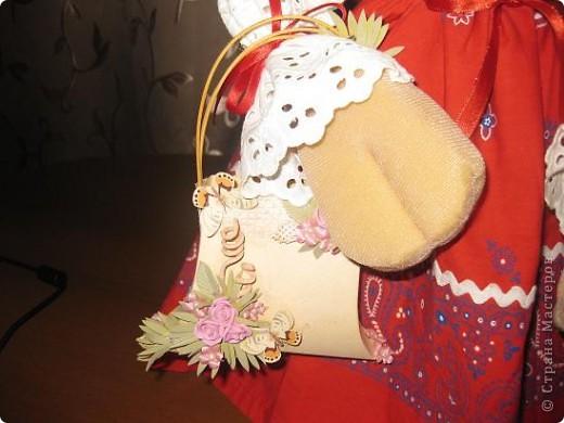 Здравствуйте ,дорогие мастерицы !Познакомтесь-это моя Кармен,коровка выполненная по МК Нины Семеновны.Спасибо ей ОГРОМНОЕ за замечательный МК!!! фото 5