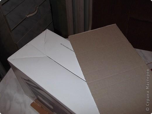 Девочки,помогите,пожалуйста! Задумала из этой коробки сделать сундучок моим мужчинам под разные наушники для сот тел,гарнитур и пр фото 2
