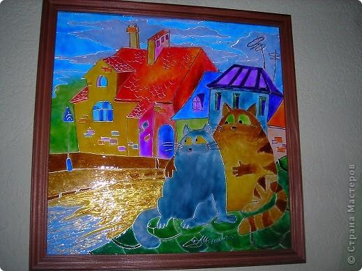 """Картинка """"коты на крыше"""" фото 1"""
