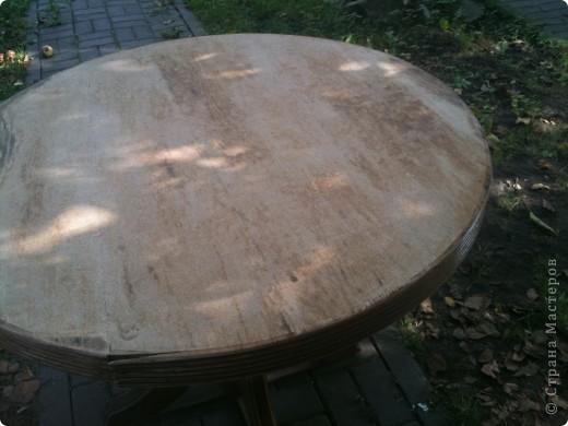 вот такой стол бил...решила переделать))) фото 3