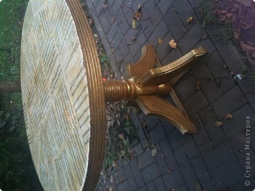 вот такой стол бил...решила переделать))) фото 2