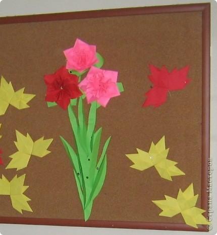 Цветы  и  листья.
