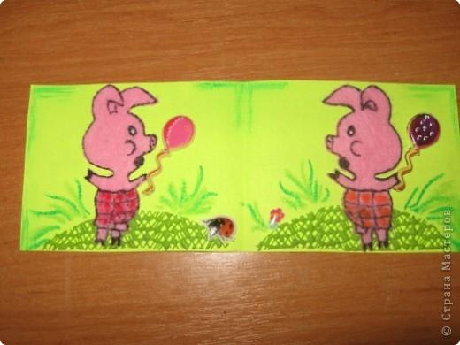 А вот и новая серия АТС это они в раскрытом виде Животные сделаны из салфеток для уборки также использована пастель, вспененный коврик и наклейки фото 3
