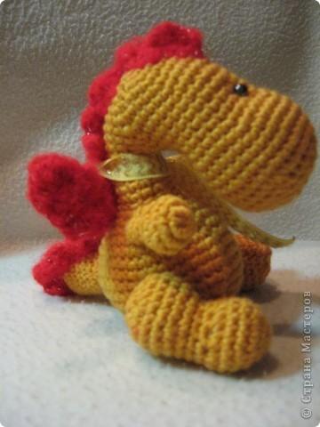 Здравствуйте, мои хорошие!!!  А вот и я!  И снова не с декупажем и не с Тильдами, а вот с таким вот Дракошей. (будующий 2012 год-это год дракона и я начинаю потихоньку к нему готовиться :))) фото 5