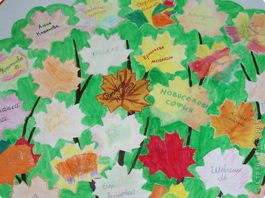 Поздравляю всех учителей с приближающимся праздником! Нашего учителя - Любовь Николаевну я решила поздравить весело. Сюжет думаю понятен: учитель поливает дерево-учеников знаниями, и они растут и крепнут с каждым днём!  фото 2
