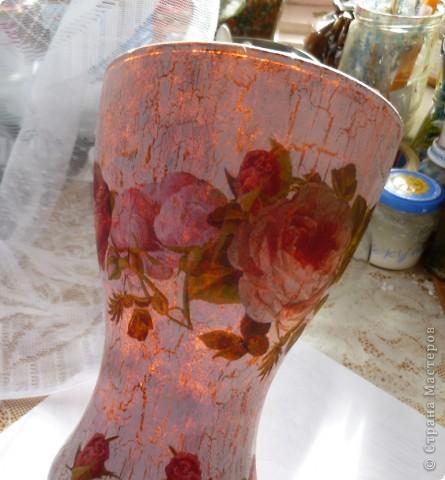 От попадания  солнечных лучей  в вазу  она вся  зарозовела, как  ушки  маленьких детишек на солнышке. фото 1