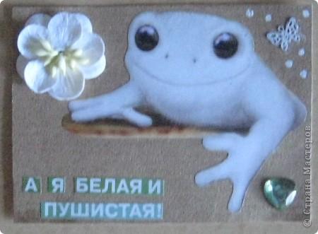 """Вот, наконец-то, и """"созрела"""" для того, чтобы выставить своё болотце на всеобщее обозрение.  Сначала представляю вам, дорогие мастерицы, свою новую серию """"Лягушки-путешественницы"""", так как, я надеюсь. отправятся они к своим новым хозяйкам. Юля-bagira, Оksana Gordey, Vitulichka, natabel - посмотрите, может вам понравятся мои лягушечки... фото 52"""